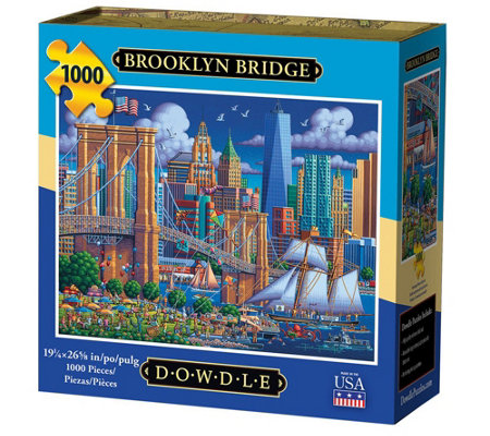 Dowdle Brooklyn Bridge 1 000 Piece Jigsaw Puzzle