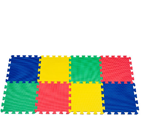 32-Piece Trademark Multicolored Foam Mat