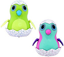 "Hatchimals Set of 2 4"" Wind-Up EGGliders with Lights - T35222"