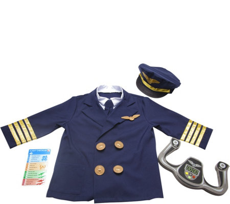 Melissa & Doug Pilot Role PlayCostume Set
