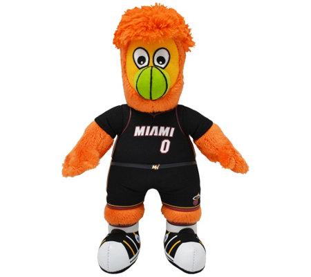Bleacher Creatures Nba Miami Heat Mascot 10 Plush Figure
