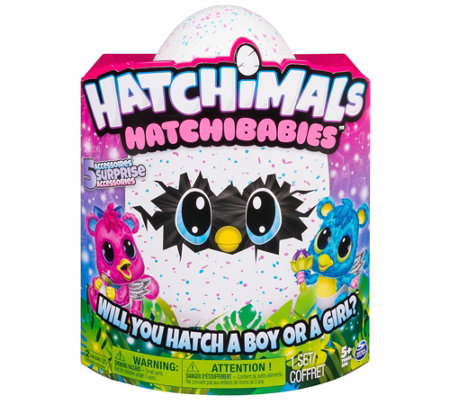 Hatchimals Hatchibabies Choice of Ponette or Cheetree
