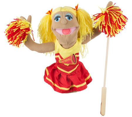 Melissa Doug Cheerleader Puppet