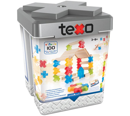 Guidecraft Texo 100-Piece Set