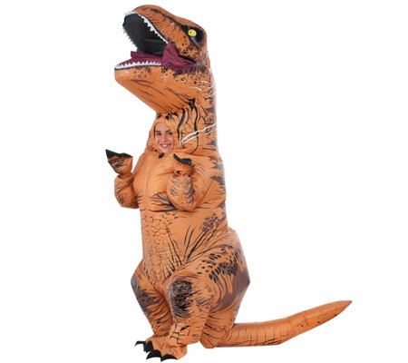 Inflatable Full-Body Child T-Rex Costume