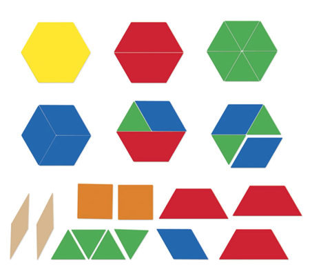 Giant Magnetic Pattern Blocks