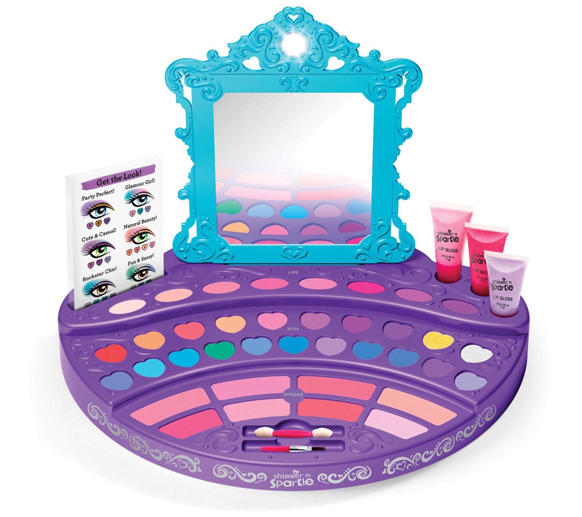 Cra Z Art Shimmer N Sparke Ultimate Make Up Design Studio Qvc Com