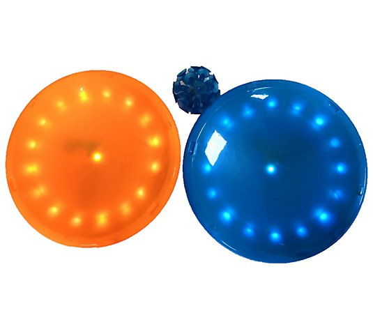 Paddle Britez Light Up Paddle Gloves with LED Ball