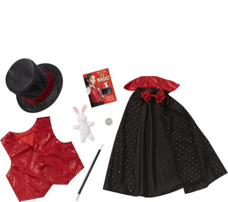 Melissa & Doug Magician Role PlayCostume Set