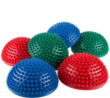 Hey! Play! Hedgehog-Style Balance Pods - Set of6