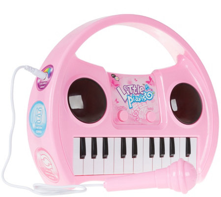 Hey! Play! Kids Karaoke Machine with Microphone