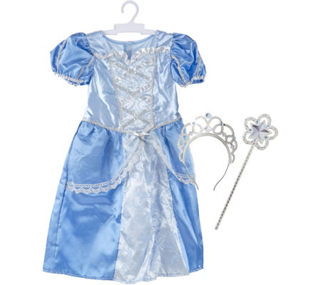 Melissa & Doug Royal Princess Role PlayCostume Set
