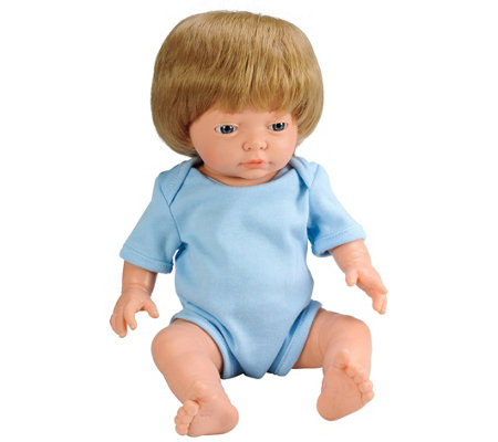 "Educational Insights 15.75"" Baby Bijoux Caucasian Boy Doll"