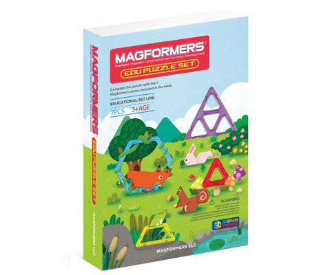 Magformers Educational Puzzle 7-Piece Set