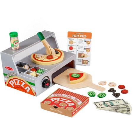 Melissa Doug Top Bake Pizza Counter