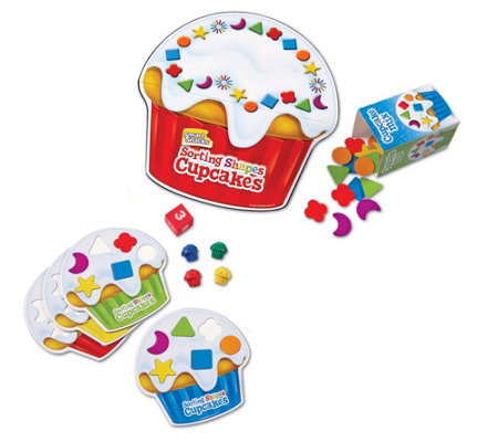 Smart Snacks Shape Sorting Cupcakes Game by Learning Resource