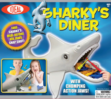 Sharky's Diner Chomping Action Game