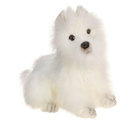 Hansa 10 Plush Westie Highland Terrier Dog