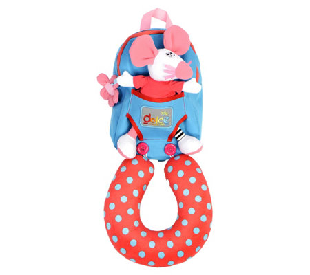Dolce Mouse Backpack With Neck Support