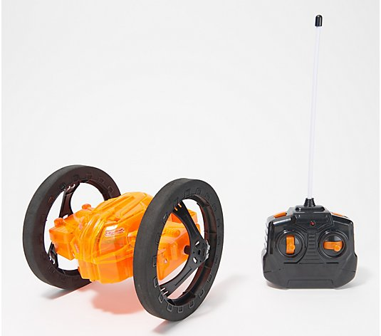 Jumping Catapult Remote Control Car with LED Lights
