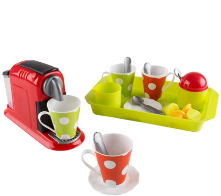 Hey! Play! Coffee Maker Toy Set