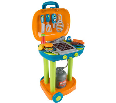 Hey Play Bbq Grill Toy Playset