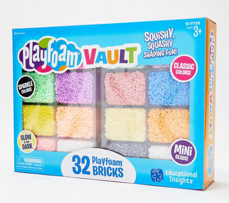 Educational Insights 32-pc Deluxe Playfoam Assortment Set