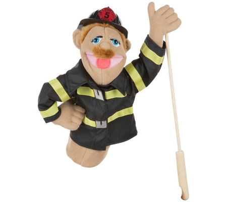 Melissa Doug Firefighter Puppet