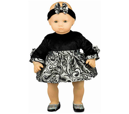 The Queen S Treasures 15 Baby Doll Bitty Blackvelvet Outfit