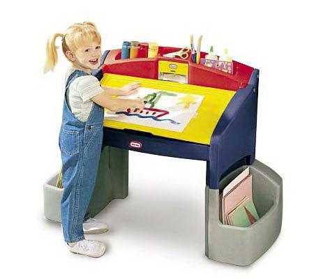 Little Tikes Hideaway Art Desk
