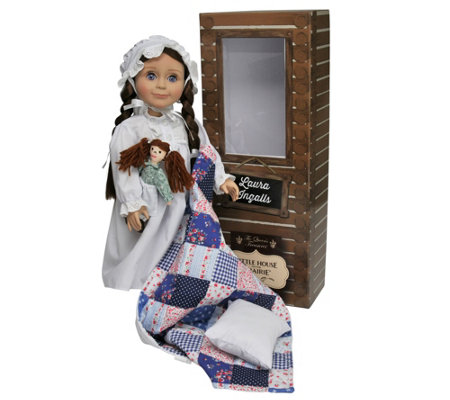 "The Queen's Treasures Little House Laura Ingalls 18"" Doll"