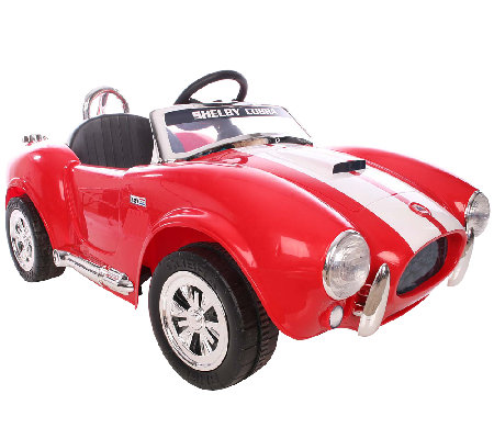 Shelby Cobra One-Seater Ride-On Car