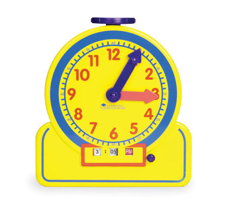 The Time Teacher Junior Learning Clock by Learning Resources