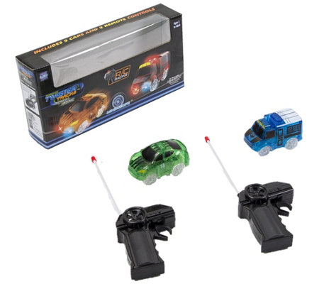 Twister Tracks Set Of Two Dual Lane Add On Vehicles