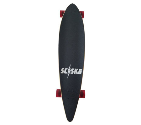 Scsk8 Natural 40 Pintail Longboard Skateboard