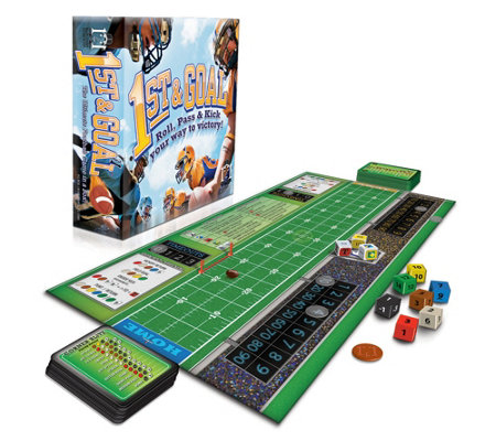 R R Games 1st Goal Football Board Game