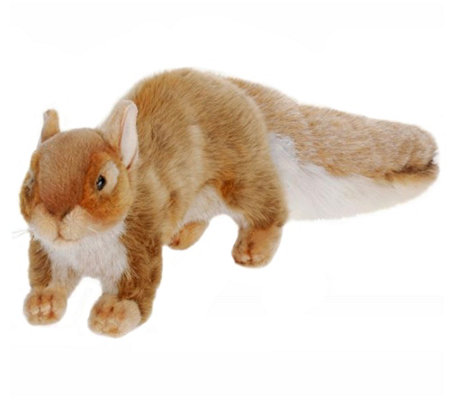 Hansa 9 Plush Brown Squirrel