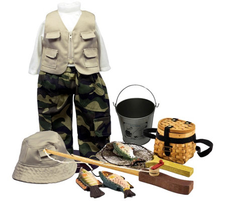 "The Queen's Treasures 18"" Doll Fishing Clothes& Accessories"