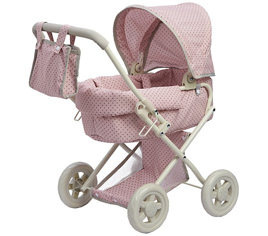 Olivia's Little World Polka Dots Princess DollDeluxe Stroller