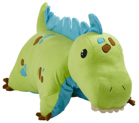 Pillow Pets Green Dinosaur