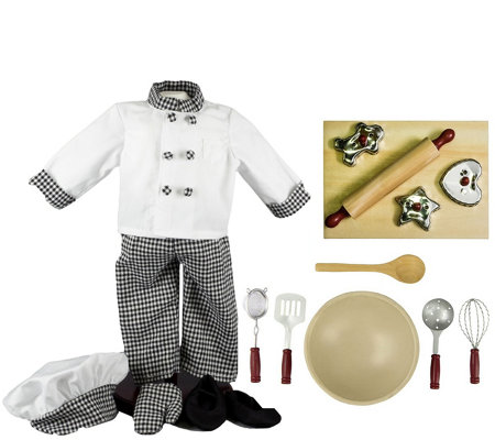 "The Queen's Treasures 18"" Doll Chef Clothes & Accessories"