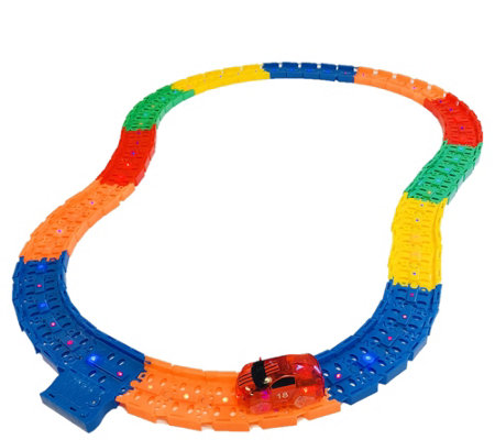 Twister Trax 12' LED Light Up Tracks with Car and Carry Bag