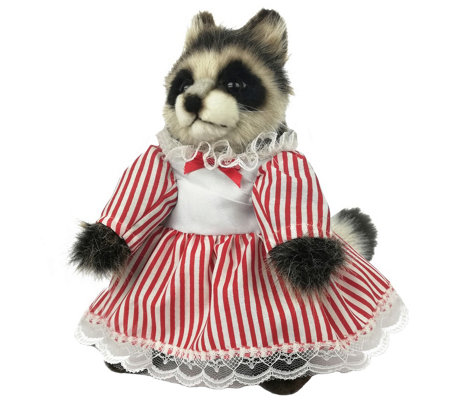 Hansa 9 Plush Girl Raccoon