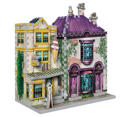 Madam Malkin S Florean Fortescue S Ice Cream3 D Puzzle