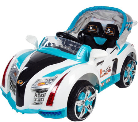 Lil' Rider Battery Operated Car with Canopy