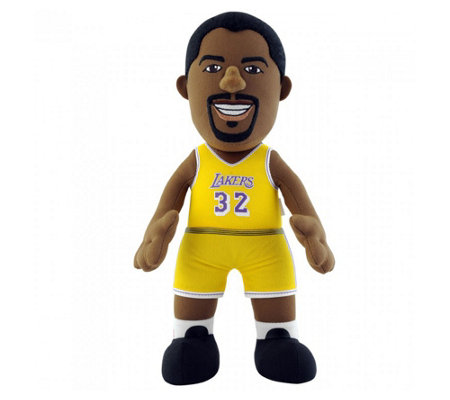 Bleacher Creatures LA Lakers Magic Johnson Plush Figure