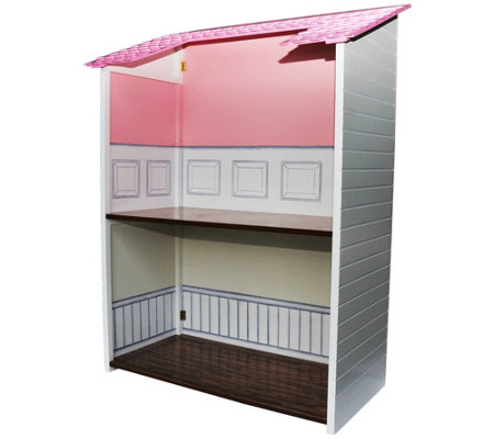 "The Queen's Treasures 18"" Doll Two-Story Folding Dollhouse"