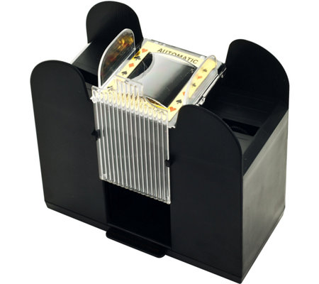Trademark Poker Six-Deck Automatic Card Shuffler