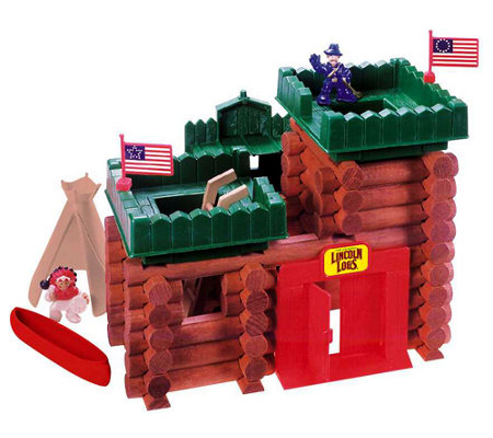lincoln logs frontier fort qvc com