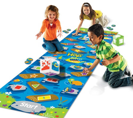 Crocodile Hop  A Floor Mat Game by Learning Resources